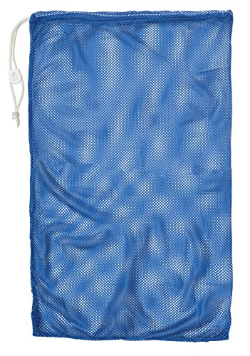 "Champion Sport Mesh Equipment Bag, Royal Blue, 24"" x 36"""