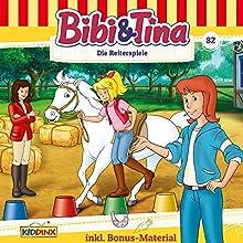 Die Reiterspiele (Bibi & Tina 82) Hörspiel von Markus Dittrich Gesprochen von: Susanna Bonasewicz, Doretta Hugo, Gunter Schoß