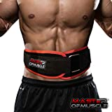 Master of Muscle Workout Weight Lifting Belt for Men and Women – Contoured and Neoprene Lightweight for Comfortable Back Support - Ideal for Squat, Powerlifting, Deadlift Training (MEDIUM) (Tamaño: 29