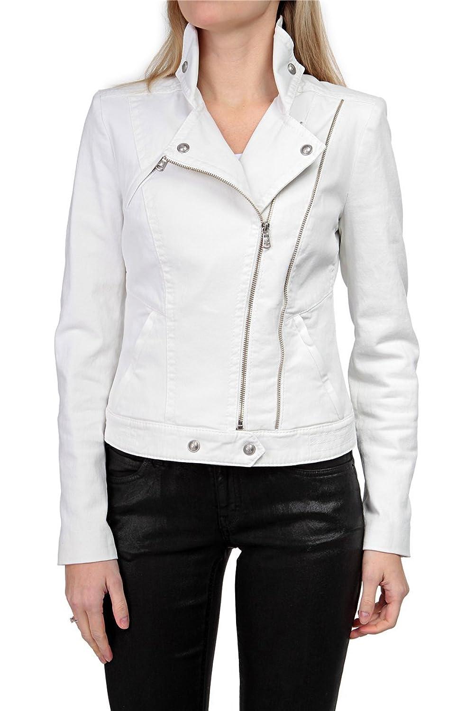 Drykorn Damen Jacke Jeansjacke THURROCK 2, Farbe: Weiss