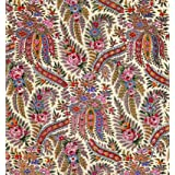 Design for printed shawl fabric, by George Charles Haite (Print On Demand)
