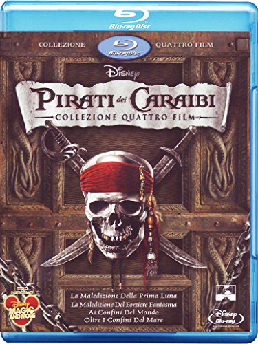 Pirati dei Caraibi - Collezione quattro film (+e-copy) [Blu-ray] [IT Import]