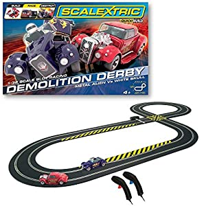 Scalextric QuickBuild C1301 Demolition Derby 1:32 Scale Race Set