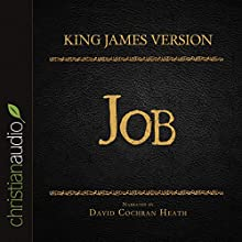 Holy Bible in Audio - King James Version: Job (       UNABRIDGED) by  King James Version Narrated by David Cochran Heath