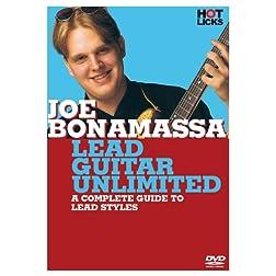 Joe Bonamassa: Lead Guitar Unlimited