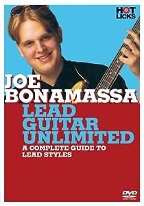 Joe Bonamassa - Lead Guitar Unlimited DVD (Hot Licks)