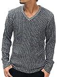 (オタリー) OTARIE ニット メンズ セーター Vネック ストレッチリブ 4color M ブラック