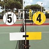 Unique Tennis Score Keeper For Net Post by Unique