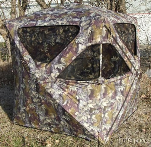 Five hub instant pop up deer turkey hunting ground blind NEW 80536