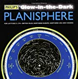 Philip's Imprint Philip's Glow-in-the-Dark Planisphere (Latitude 51.5 North): For use in Britain and Ireland, Northern Europe, Northern USA and Canada