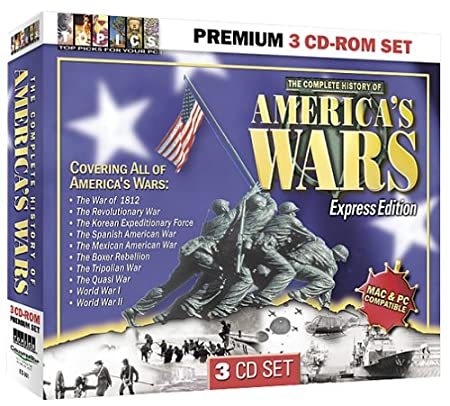 America's Wars 3 CD-ROM Set (Jewel Case)