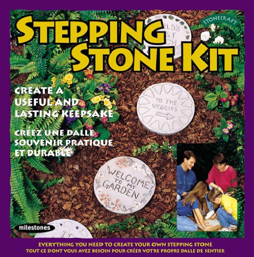 Best Gifts for Garden Lovers - Midwest Products Basic Round Stepping Stone Kit