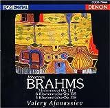 ブラームス:後期ピアノ曲集