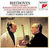 echange, troc Beethoven, Accardo, Giulini - Violin Concerto / Romances