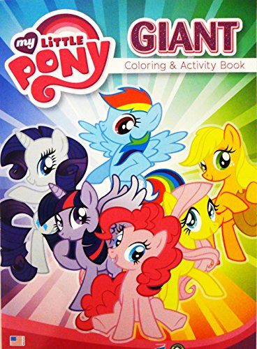 My Little Pony Giant Coloring and Activity Book - 1