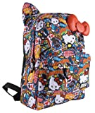 Hello Kitty SANBK0055 Backpack,Red/White/Blue/Yellow/Black,One Size