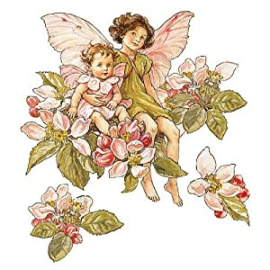 wallies wallpaper cutout apple blossom flower fairies