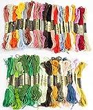 刺繍糸 50色 50束 DMC 糸 25番 対応 クロスステッチ まとめ買い