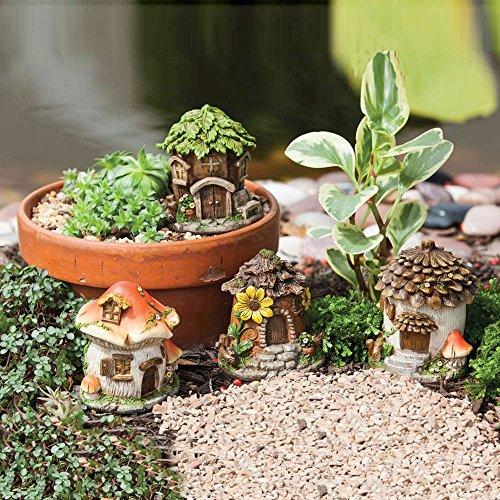 Mini Fairy House Set of 4