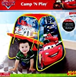 Playhut Cars Camp N Play Tent
