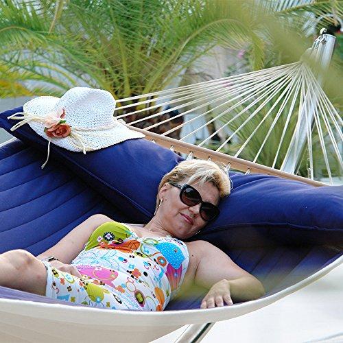 Lola Luxus Stab Hängematte gefüttert American Hammock Lifestyle OCEAN mit Kissen günstig kaufen