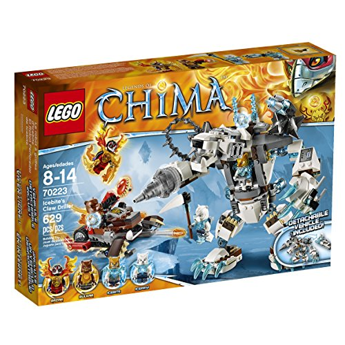 New LEGO Chima Icebites Claw Driller