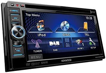 Kenwood DDX-4025DAB Autoradio avec DVD/CD-Tuner/USB/Bluetooth/DAB+