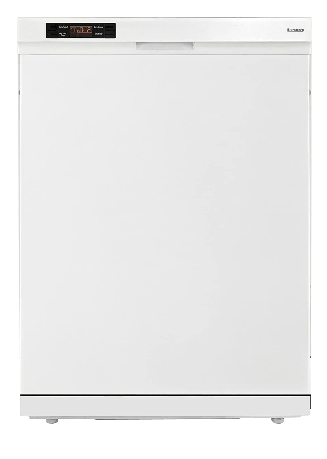 Blomberg DW24100W Dishwasher with Standard Tub Front Controls, 14 Place Settings, White