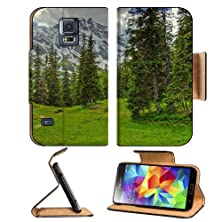 buy Green Mountains Clouds Landscapes Nature Samsung Galaxy S5 Sm-G900 Flip Cover Case With Card Holder Customized Made To Order Support Ready Premium Deluxe Pu Leather 5 13/16 Inch (148Mm) X 2 1/8 Inch (80Mm) X 5/8 Inch (16Mm) Msd S V S 5 Professional Cases
