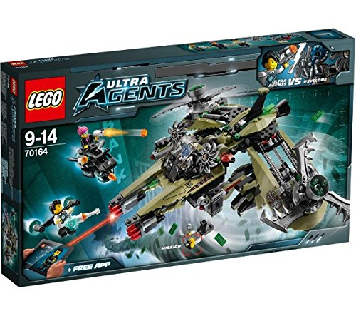 LEGO Ultra Agents - Hurrikan-Überfall - 70164