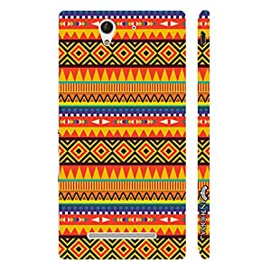 Sony Xperia C3 Fast Forward designer mobile hard shell case by Enthopia