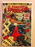 Spiderman #123 Luke Cage Aug 73 NO MAILING LABEL Fine (6 out of 10) by Mickeys Pubs