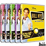 Image of Bill Nye the Science Guy 5-Disc Collection Volume 2 (Flowers & Plants, Earth's Crust & Earthquakes, The Sun & Light Bending & Bouncing, Inventions & Do-It-Yourself Science, Magnetism & Chemical Reactions)