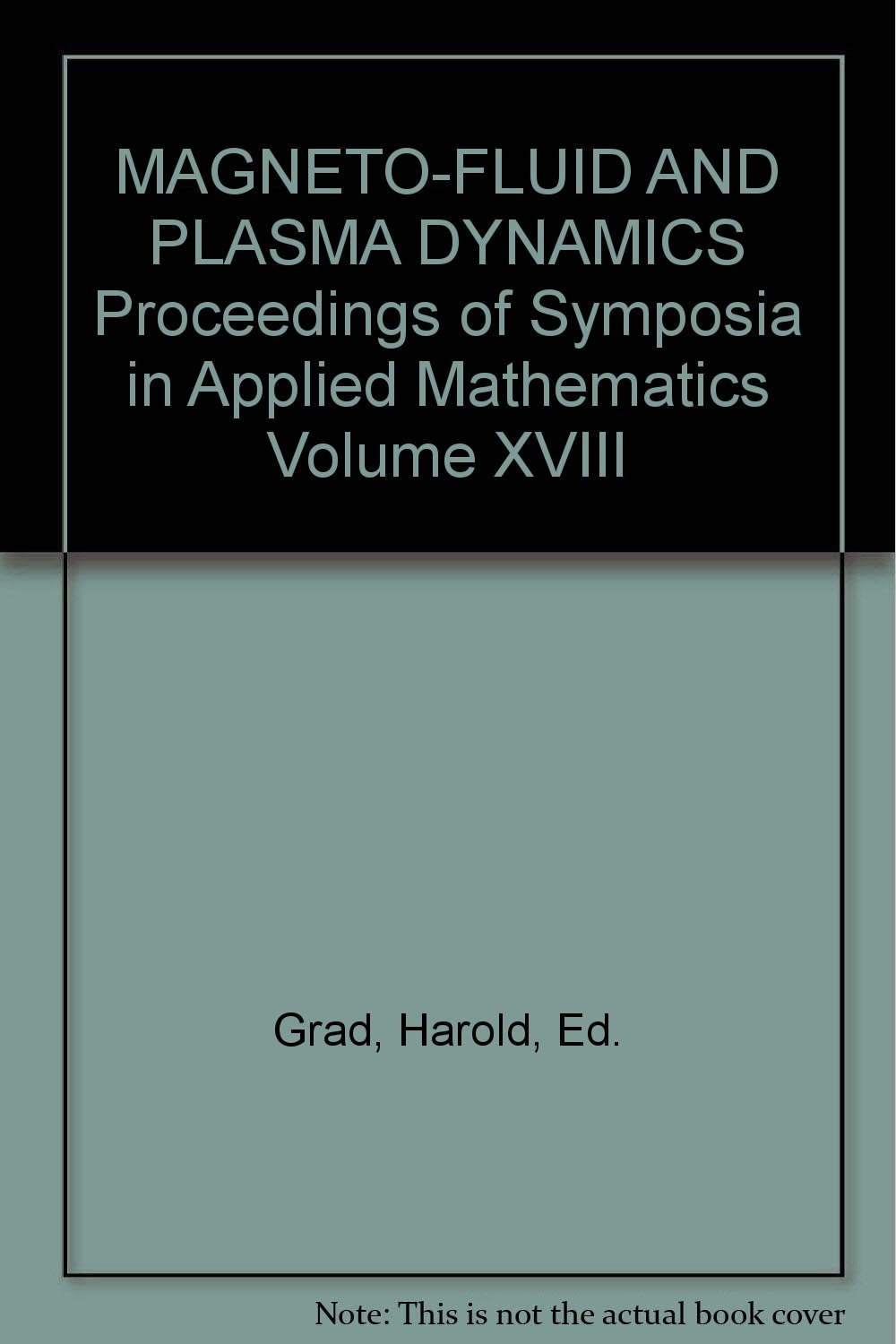 Magneto-fluid and plasma dynamics [electronic resource].