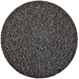 """Scotch-Brite Roloc Surface Conditioning Disc TR, 3"""" Diameter, S Fine Grit (Pack of 25)"""