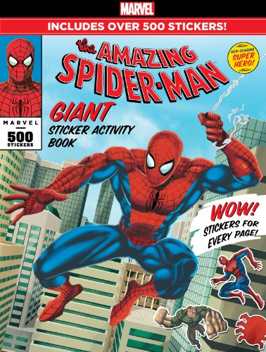 Bendon Spider-Man Giant Sticker Activity Book