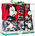 Disney Baby Boys' Mickey Mouse 5 Piece Layette Box Set by Bentex Children's Apparel that we recomend personally.