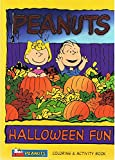 img - for Peanuts: Halloween Fun Coloring and Activity Book (#4121-2) book / textbook / text book