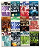 James Patterson Alex Cross Series Collection 12 Books Set Pack Cross, Mary, Mary James Patterson