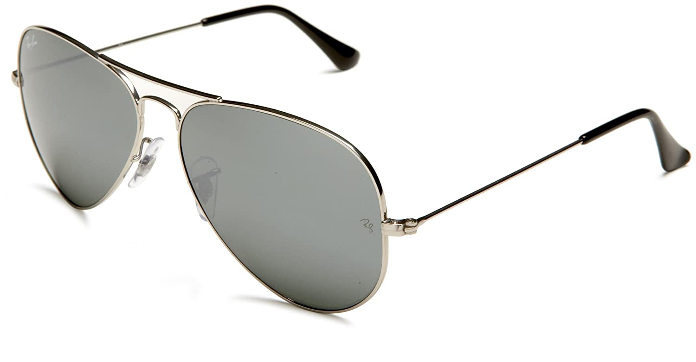 original ray ban sonnenbrille 3025 aviator silber. Black Bedroom Furniture Sets. Home Design Ideas