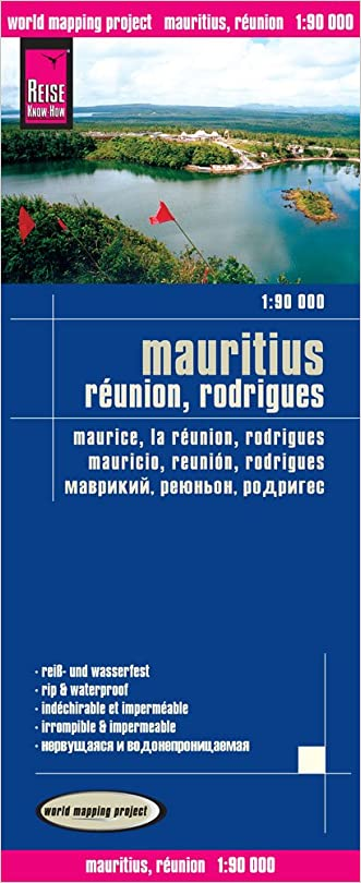Mauritius, Reunion, Rodrigues = Maurice, la Reunion, Rodrigues = Mauricio, Reunion, Rodrigues