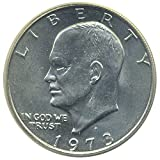 1 U.S. Eisenhower Ike $1 Dollar Coin 1971 to 1978 Collectors Coin.
