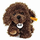 おもちゃ ホビー Steiff Little Timmy Puppy Brown 6.7