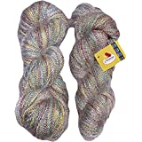Vardhman Acrylic And Nylon Knitting Wool, Pack Of 2 (Multi-Colour)