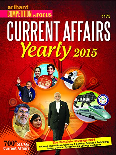 Competition In Focus Current Affairs Yearly issue 2015 Image