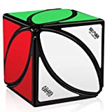 D-FantiX Qiyi Mofangge Ivy Cube FengYe Skewb Cube Puzzles Eitan Ivy Leaf Cube Black (Color: Black)