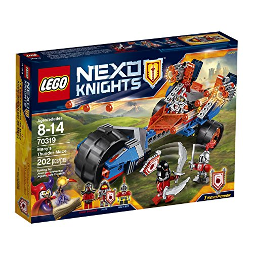 LEGO-Nexo-Knights-70319-Macys-Thunder-Mace-Building-Kit-202-Piece