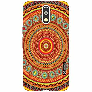 Motorola Moto G4 Plus Back Cover - Silicon Design Designer Cases