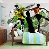 Non-woven !! Top !! Photo wallpaper ! Murals ! Wall Mural Photo !! 450x280 cm - Football Sport 10120907-2 ! Free glue for each wallpaper !