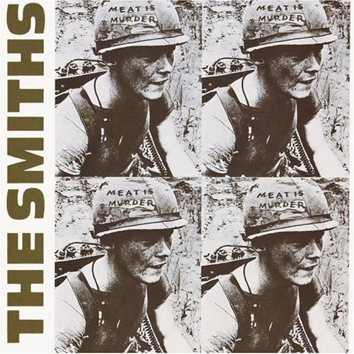 Original album cover of Meat Is Murder by The Smiths